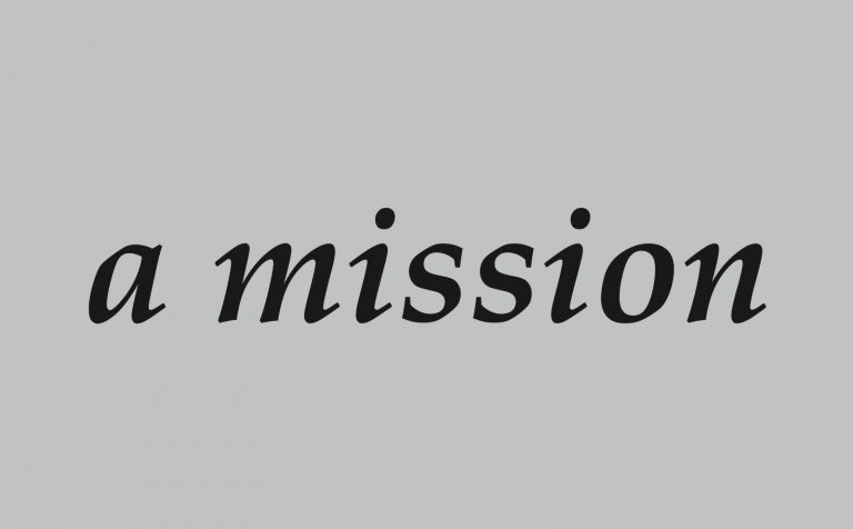 a mission