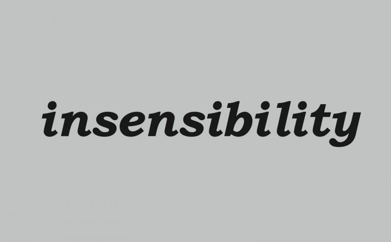 insensibility